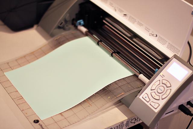 How to make a Custom Rhinestone image with Free Silhouette Download DIY Tutorial via lilblueboo.com