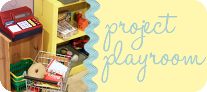Project Playroom and Play Food Series via lilblueboo.com