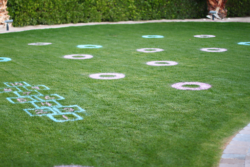 Outdoor and indoor games for kids DIY tutorial on grass via lilblueboo.com