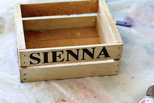 Make a Rustic Crate 5 (A Tutorial) via lilblueboo.com