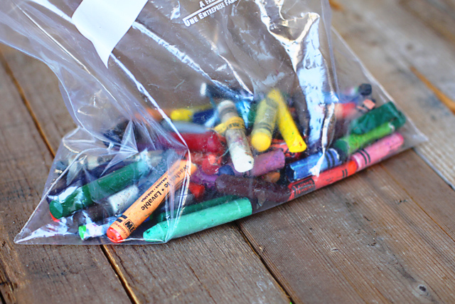 Recycled Crayons: DIY Tutorial via lilblueboo.com
