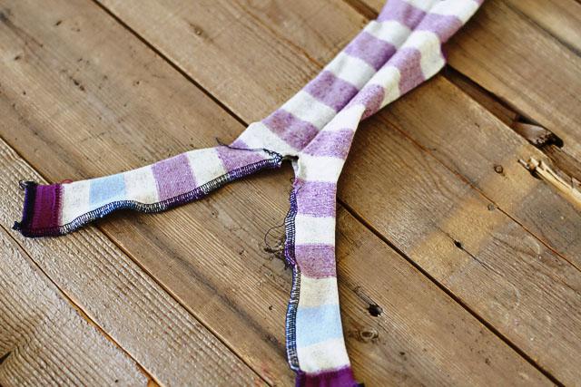 How to make a sock bunny - Step 6. DIY Tutorial via lilblueboo.com