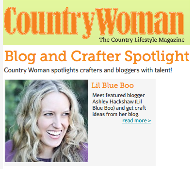 country woman spotlight via lilblueboo.com