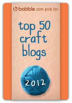 named babble's top 50 craft blogs of 2012 via lilblueboo.com