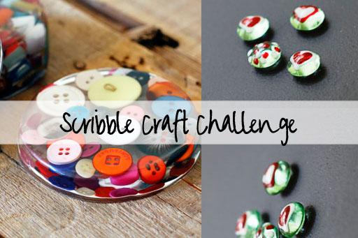 scribble craft challenge via lilblueboo.com