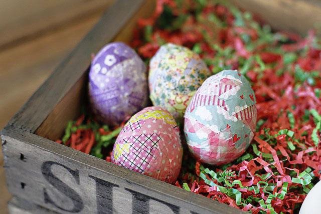 Alternative Easter Eggs step 4 (A Tutorial) via lilblueboo.com