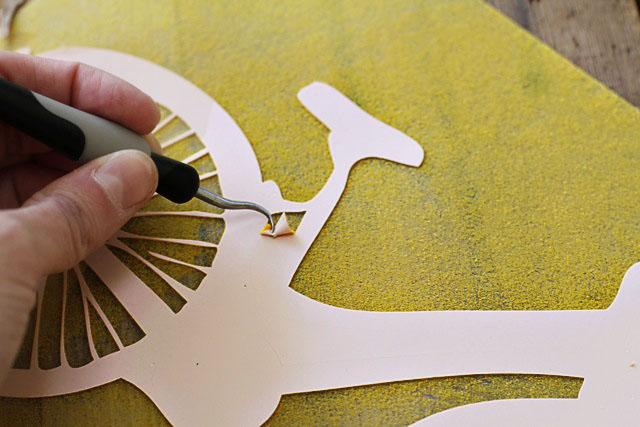 Easy Heat Transfer Applique step 3 (A Tutorial) via lilblueboo.com