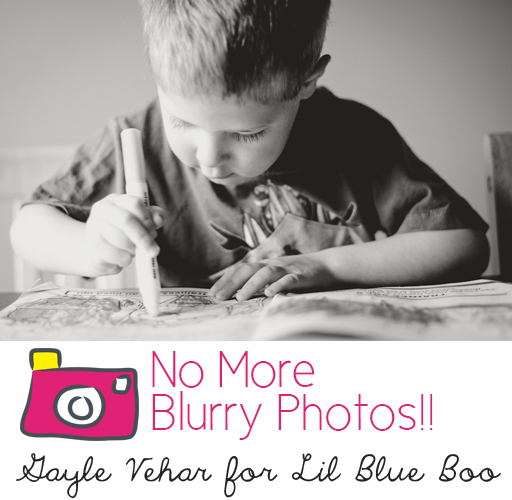 5 Tips for Kicking Blurry Photos to the Curb via lilblueboo.com