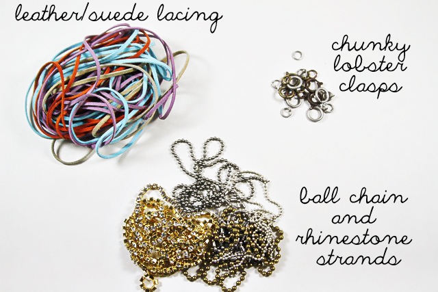 DIY Mix and Wrapped Bracelets Tutorial 2 via lilblueboo.com