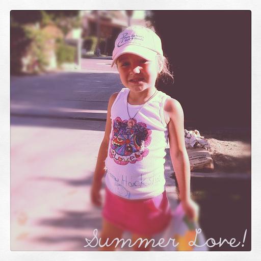 Summer Love Art Free Printable 5 for DIY via lilblueboo.com