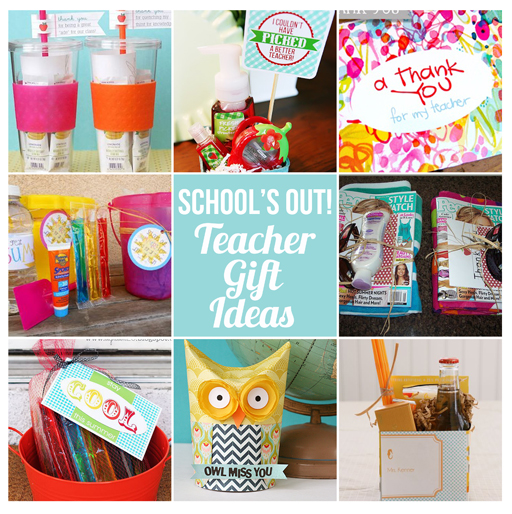 Teacher Gift Ideas via lilblueboo.com