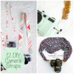 12 Awesome DIY Camera Strap Ideas via lilblueboo.com