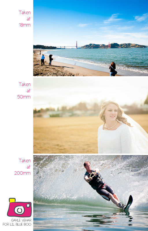 Photography Focal Length and Lenses from @Gayle Vehar via lilblueboo.com