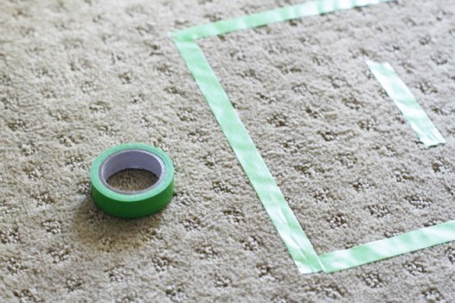 Easy Outdoor and Indoor Games DIY Tutorial Tape lilblueboo.com