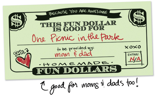 Fun Dollar Coupons – Fun Voucher Template