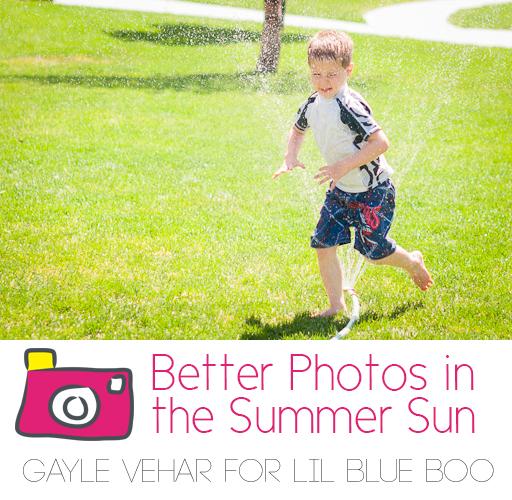 Better Summer Photo Tips #photography via lilblueboo.com