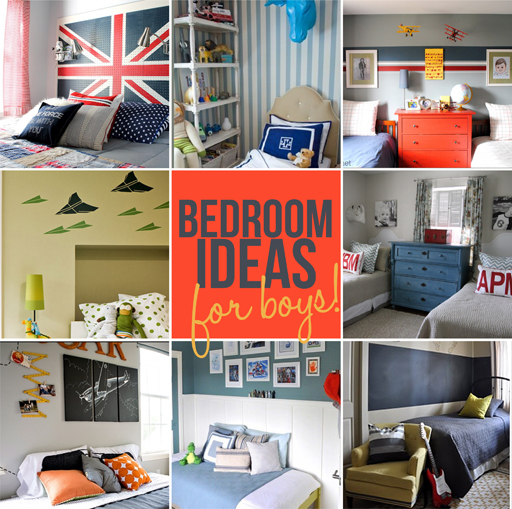 Inspiring bedrooms for boys Bedroom ideas for boys