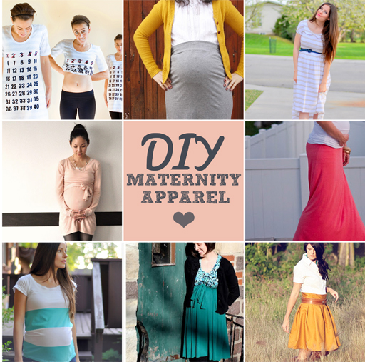 Diy maternity clothing ideas via lilblueboo.com