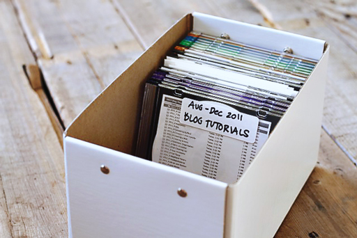 Easy File and Photo Backup Organization tutorial7 via lilblueboo.com