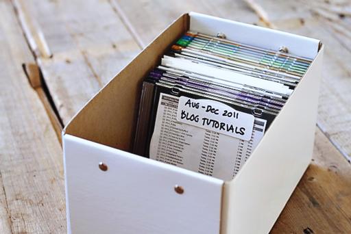 Easy File and Photo Backup Organization tutorial7 via lilblueboo.com