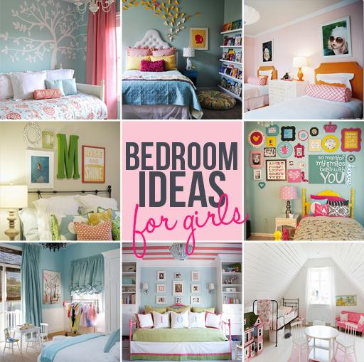 12 Girl's bedroom ideas to inspire your decor via lilblueboo.com