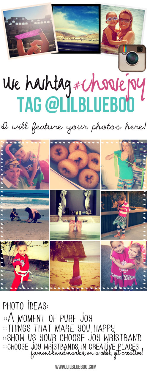 Share your Instagram Photos with @lilblueboo using the #choosejoy tag!  via lilblueboo.com