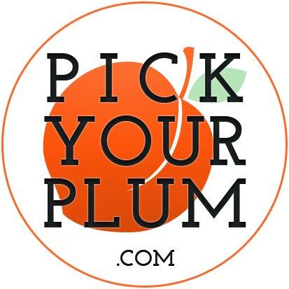 pick your plum logo via lilblueboo.com