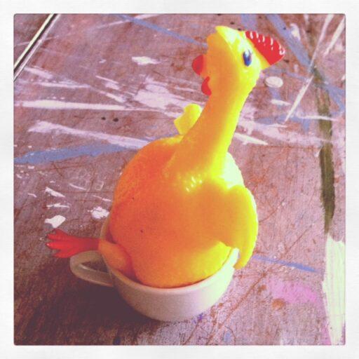 The Chicken via lilblueboo.com