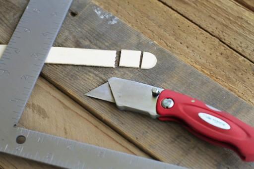 Step 1 Cutting the Stick via lilblueboo.com