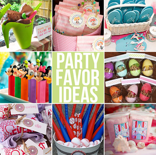 Party favor gift ideas for boys and girls via lilblueboo.com