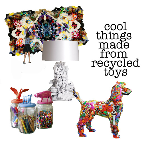 Make things with recycled stuff pictures to pin on for Cool things to make out of recycled materials