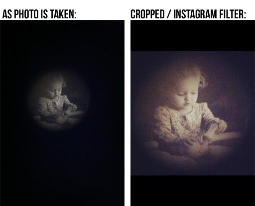 Turn an iPhone into pinhole / holga camera via lilblueboo.com