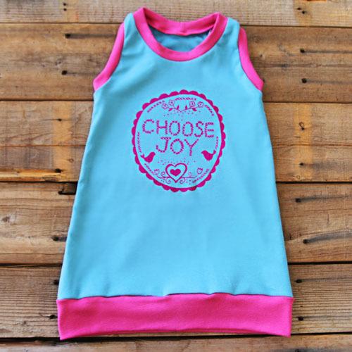 choose joy dress by lilblueboo.com
