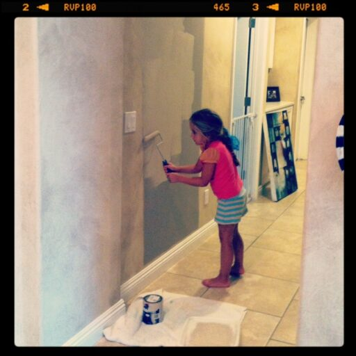 Painting beige.....over beige. via lilblueboo.com