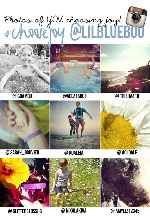 you choosing joy with lilblueboo.com