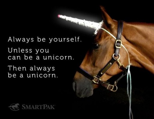 Always be a Unicorn via lilblueboo.com