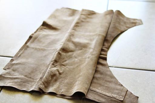 DIY Suede Fringe Bag (step 6) via lilblueboo.com