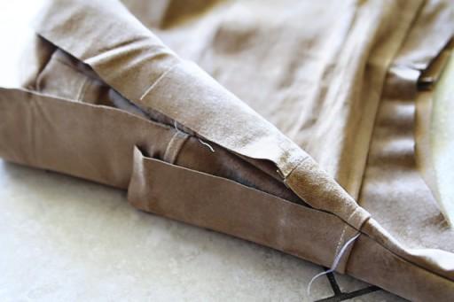 DIY Fringe Bag Tutorial (step 8) via lilblueboo.com