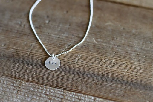 DIY Hand STamped Metal via lilblueboo.com