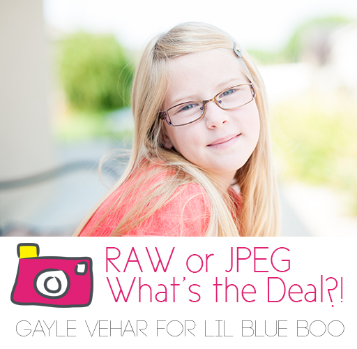 RAW or JPEG: What's the deal?!  #photography by Gayle vehar via lilblueboo.com