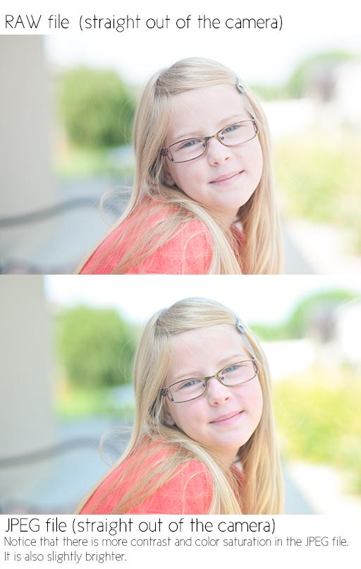 RAW and JPEG Comparison by Gayle Vehar via lilblueboo.com