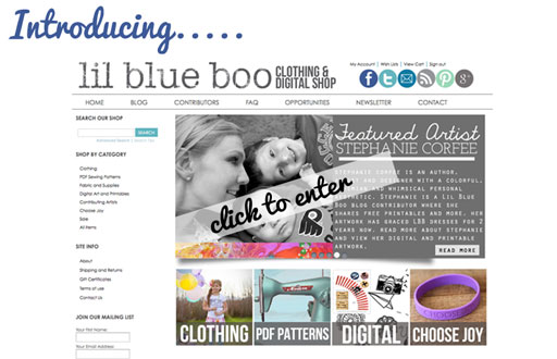 Lil Blue Boo Digital Shop via lilblueboo.com