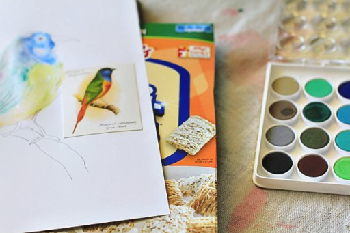 The Lil Journal Project Day 15 (Cerea Box) via lilblueboo.com