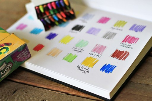 Naming Colors (the lil journal project) via lilblueboo.com