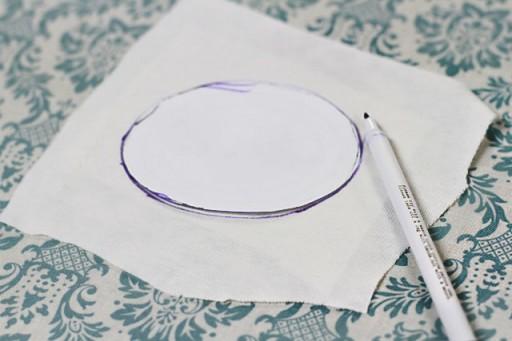 Applique Tutorial (disappearing ink pen) via lilblueboo.com