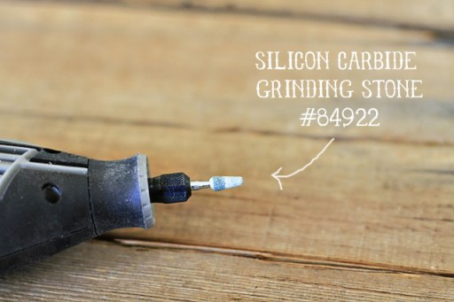 Carbide Dremel Attachment via lilblueboo.com