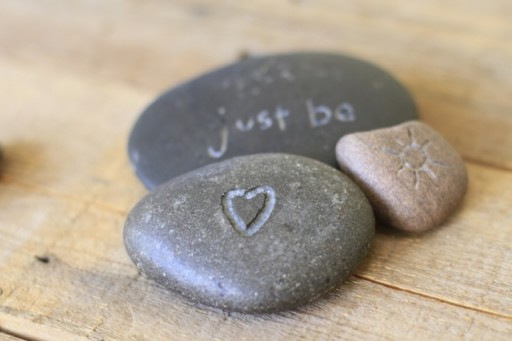 Tutorial for Carving and Etching Rocks with a Dremel via lilblueboo.com
