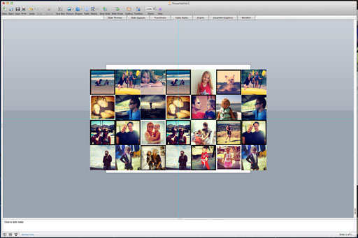 How to Make a DIY Instagram iPad Cover (arrangind photos) via lilblueboo.com