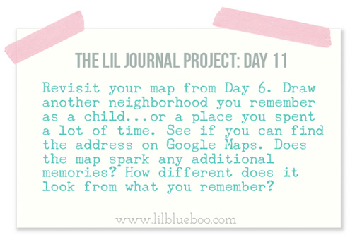 The Lil Journal Project Day 11 via lilblueboo.com