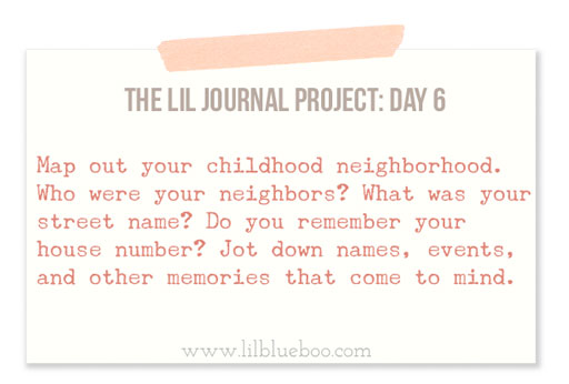 The Lil Journal Project Day 6 (Childhood) via lilblueboo.com #theliljournalproject